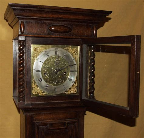 grandfather clock antique 8 day miniature grandfather grandmother clock