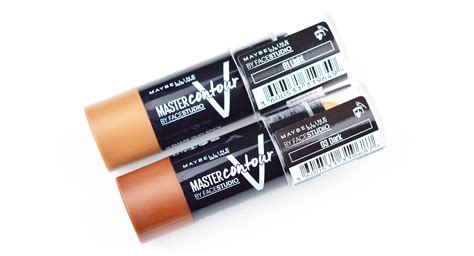 Maybelline Master Contour Stick review maybelline master contour sticks lafemmefem