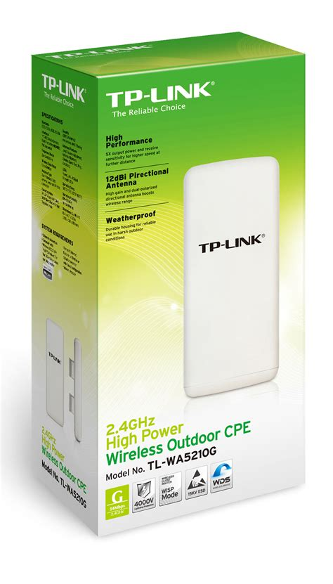 Harga Tp Link Access Point Outdoor jual harga tp link tl wa5210g outdoor 54 mbps wireless