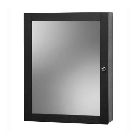 black medicine cabinet with mirror foremost 19 quot columbia mirrored medicine cabinet black
