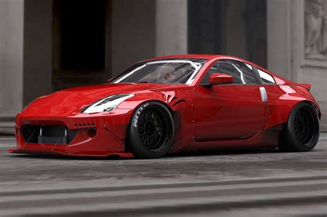 Nissan 350z Width Tra Kyoto Reveals Rocket Bunny Wide Kit For The
