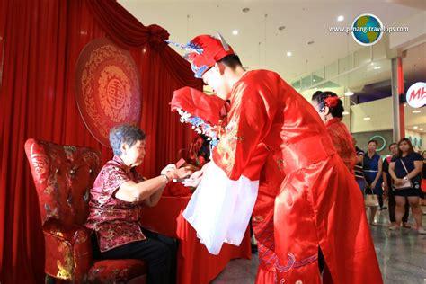 Teh Cina upacara tradisional perkahwinan orang cina di pulau pinang