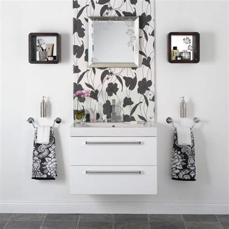monochrome bathroom ideas monochrome feature wall black and white bathroom designs