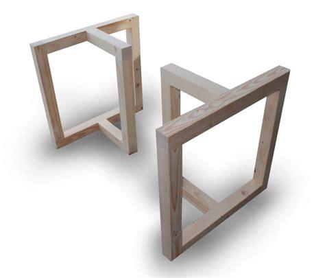 piedistalli per tavoli basamenti in legno per tavoli il sasso di calamati