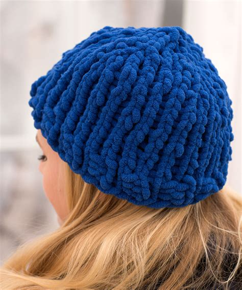 free knitting pattern simple hat easy peasy bulky hat free knitting pattern knitting bee