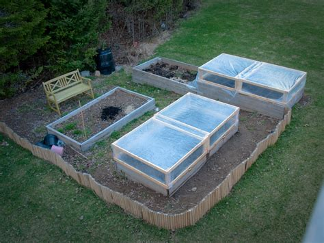 Raised Bed Cold Frame Diy Raised Bed Cold Frames My Garden Log