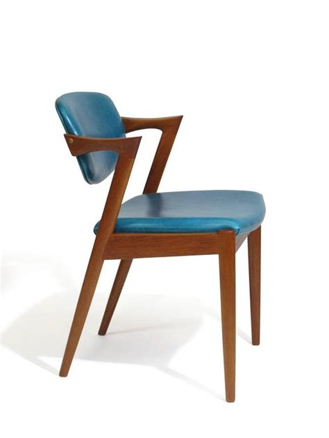 Turquoise Leather Dining Chairs Six Kristiansen Teak Dining Chairs In Turquoise Leather 20 Available For Sale At 1stdibs