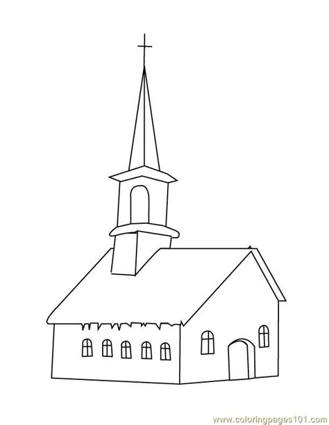 church house coloring pages church house coloring page free houses coloring pages
