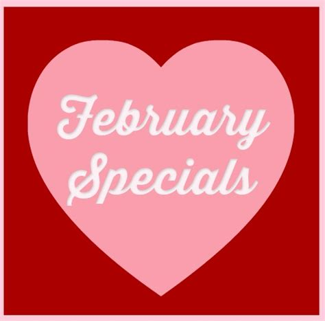 valentines month february specials 183 willow spa for