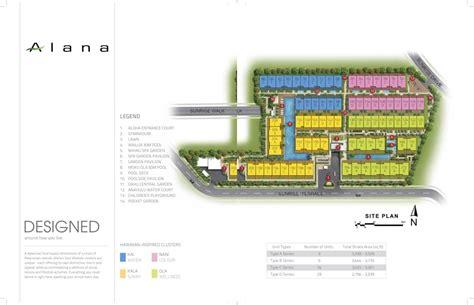 sle site plan alana sunrise terrace showflat hotline 6100 7122