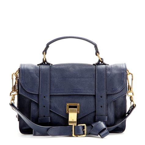 Ciara Proenza Bag proenza schouler ps1 tiny leather shoulder bag in blue lyst