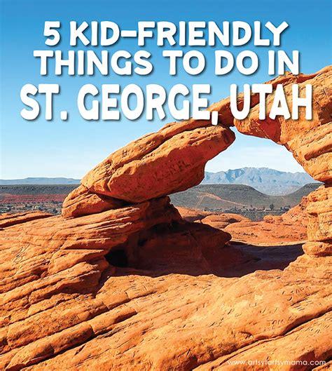 5 kid friendly things to do in st george utah artsy