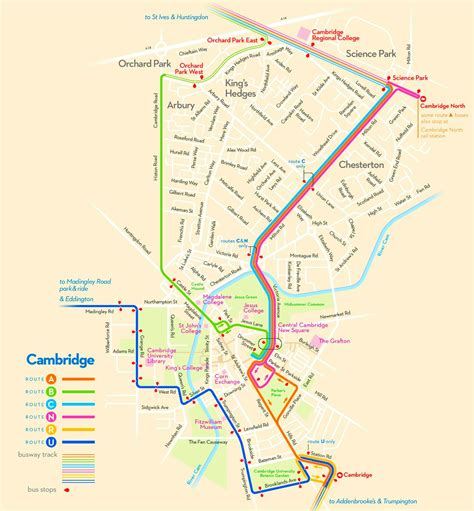 map uk cambridge cambridge map
