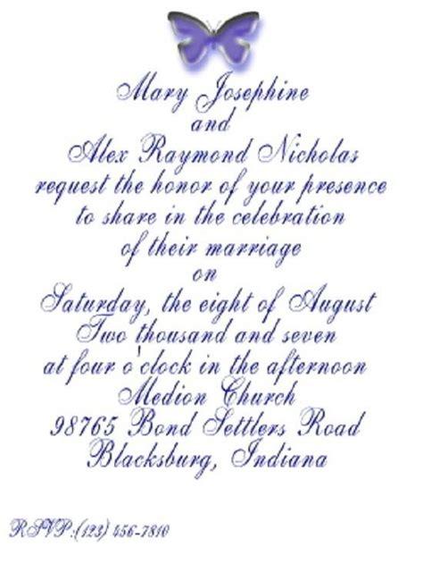 words of thanks for wedding invitation wedding invitation wording wedding