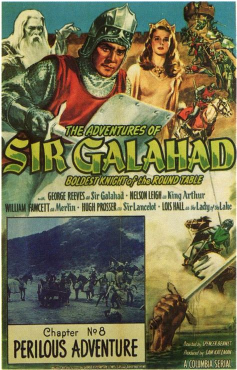 the adventures of sir the adventures of sir galahad movie posters from movie poster shop