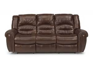 flexsteel living room leather power reclining sofa 1210