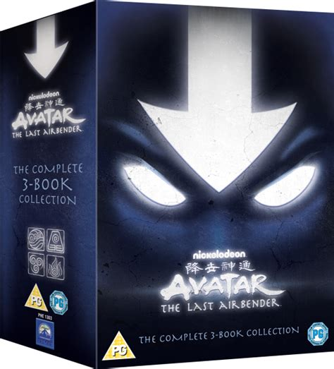 3 In One Legend Collections avatar the last airbender the complete collection dvd