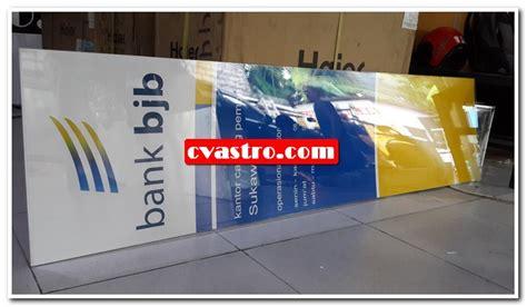 Acrylic Denpasar pengadaan neon box acrylic bjb sukawati bali