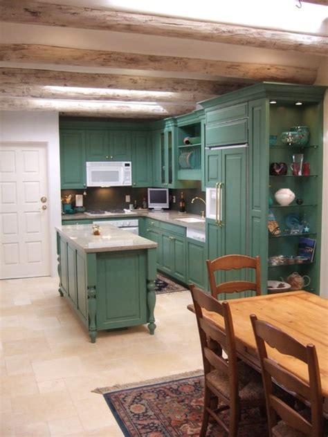 santa fe style kitchen cabinets santa fe style kitchens craftsman kitchen