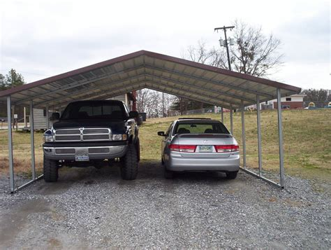 2 Car Car Port by Carports Two Car Carports 2 Car Carports