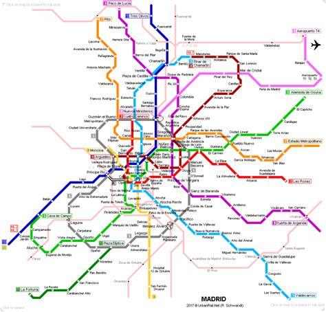 madrid metro map urbanrail net gt europe gt spain gt madrid metro