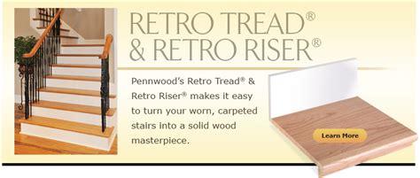 pennwood products products retro treadretro riser