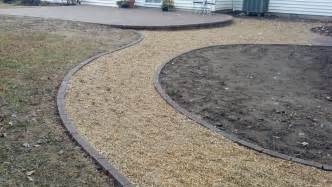 Pea Gravel Patio Cost by Life Time Pavers Pea Gravel Patio Amp Walkways With Brick