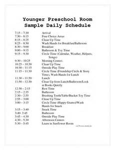 preschool schedule template best photos of preschool daily schedule template free