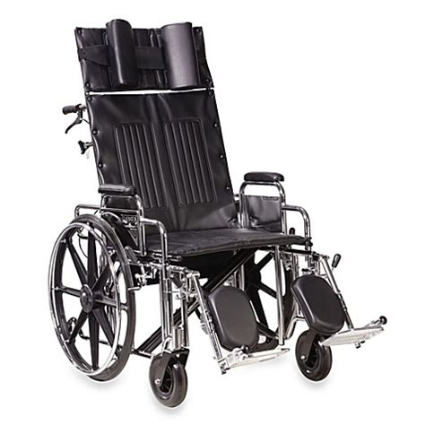 drive reclining wheelchair buy drive medical sentra 22 inch full reclining wheelchair