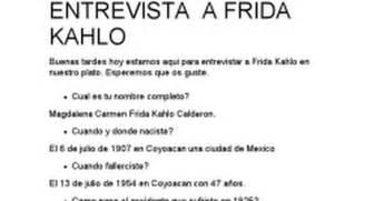 preguntas entrevista laboral google entrevista a frida kahlo google docs