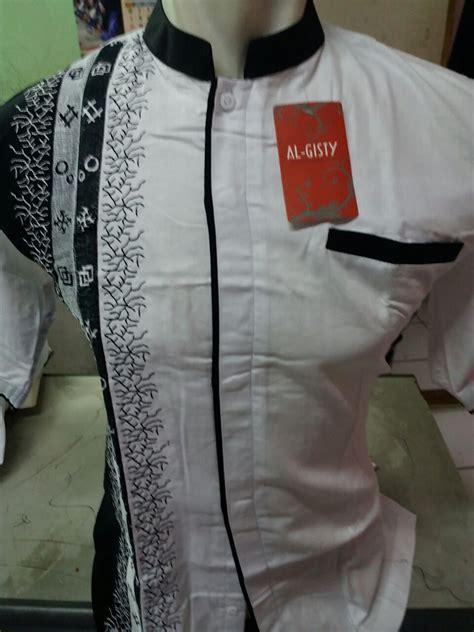 Koko Dannis Lengan Panjang Putih 1 baju koko modern albatar
