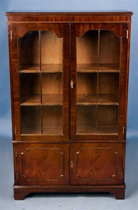 antique style mahogany bookcase for sale