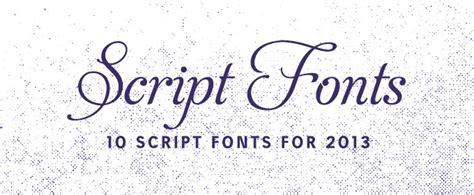 10 script fonts for 2013 creative market blog