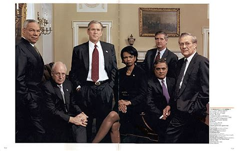 Bush Administration Cabinet by Review Rise Of The Vulcans By Mann Political Books