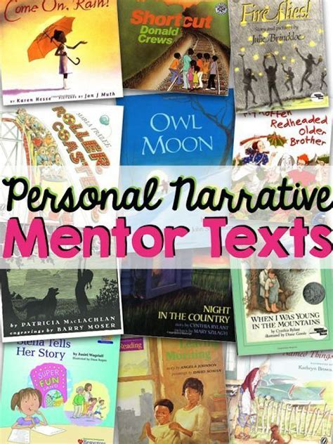 picture books to teach narrative writing personal narrative mentor texts true i m a