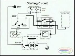starting system & wiring diagram youtube