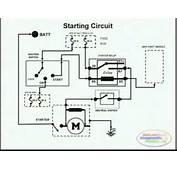 Starting System &amp Wiring Diagram  YouTube