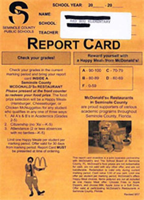 Activate Mcdonalds Gift Card - mcdonald s pulls ads from florida report cards news adage