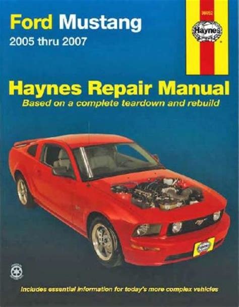 old cars and repair manuals free 2007 ford gt500 seat position control ford mustang 2005 2007 haynes service repair manual sagin workshop car manuals repair books
