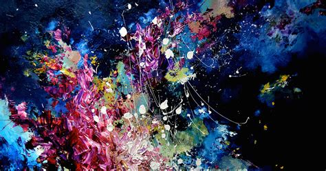 color blind song artist with synesthesia can see as colorful paintings