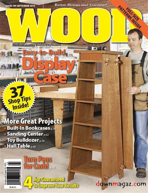 woodwork woodworking magazine   plans