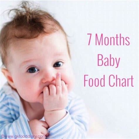 indian baby food chart for 7 months baby | baby food