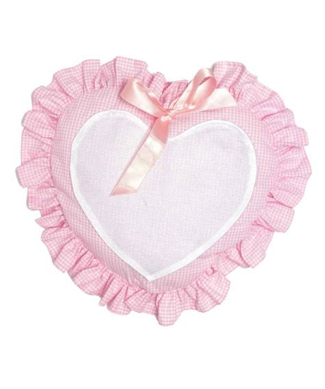 cuscini da ricamare cuscino cuore da ricamare serie quadrettini articoli da