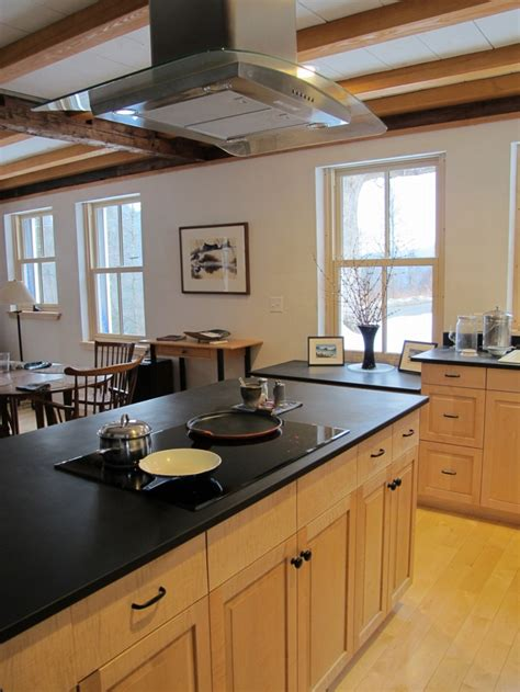 Kitchen Islands With Cooktops going high tech with an induction cooktop