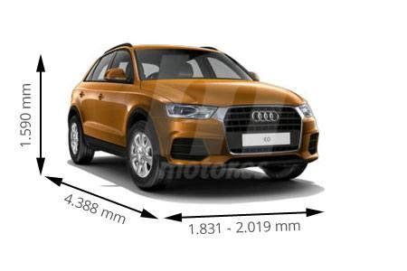 medidas volkswagen tiguan: longitud, anchura, altura y