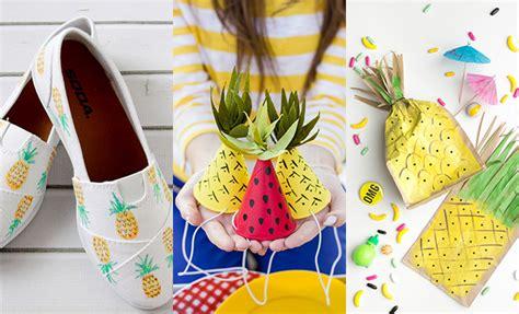 zomer diy diy idee 235 n met ananas like