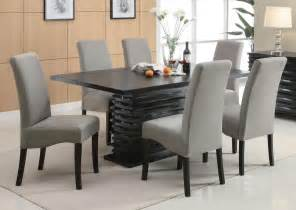 Contemporary Dining Room Sets fine furniture 102061 102062 stanton contemporary dining table set