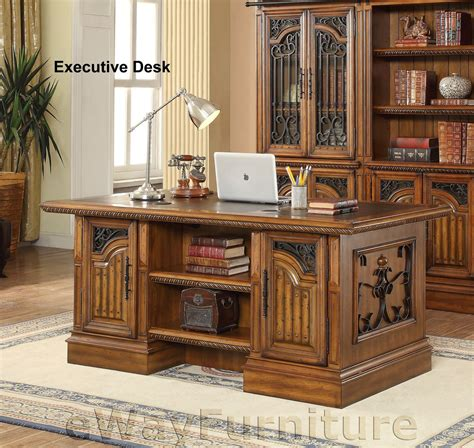 executive desk for home office house barcelona pedestal executive home