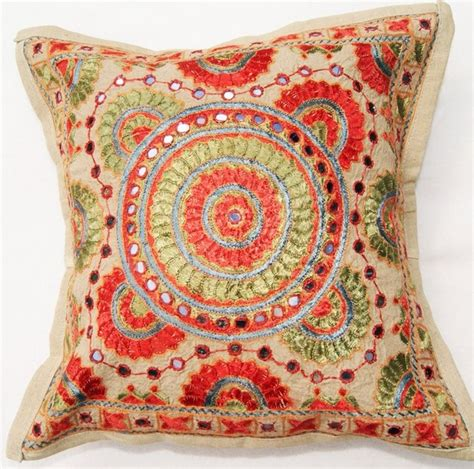 Moroccan Bedrooms Ideas Photos traditional indian embroidered cushion cover traditional