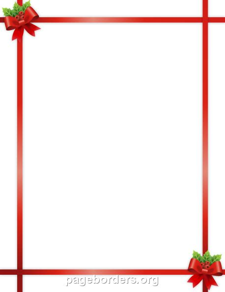 microsoft word christmas borders    clipartmag